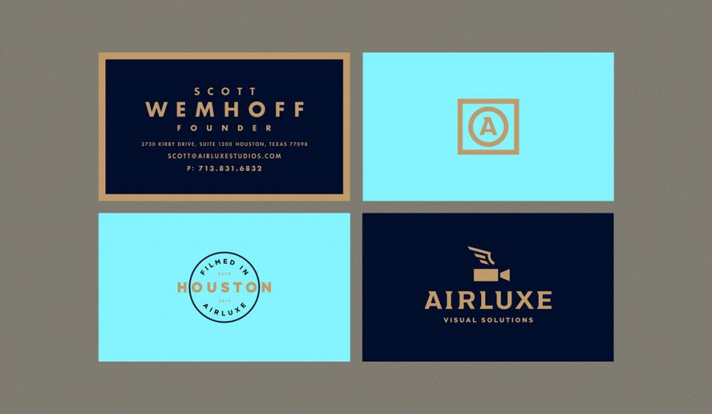 elegant luxury business card design