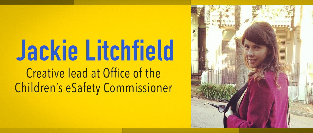 jackie-litchfield-creative lead at office of the children's esafety commissioner