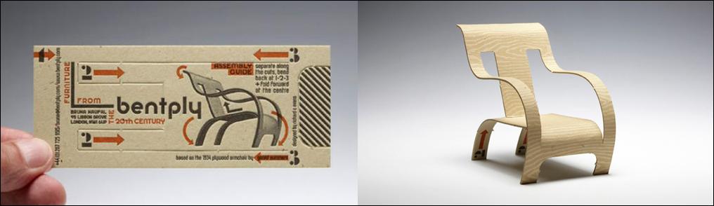 3d letterpress business card design
