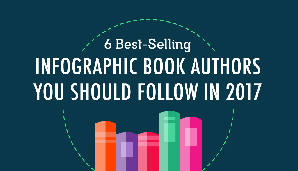 6 best selling infographic book authors you should follow in 2017