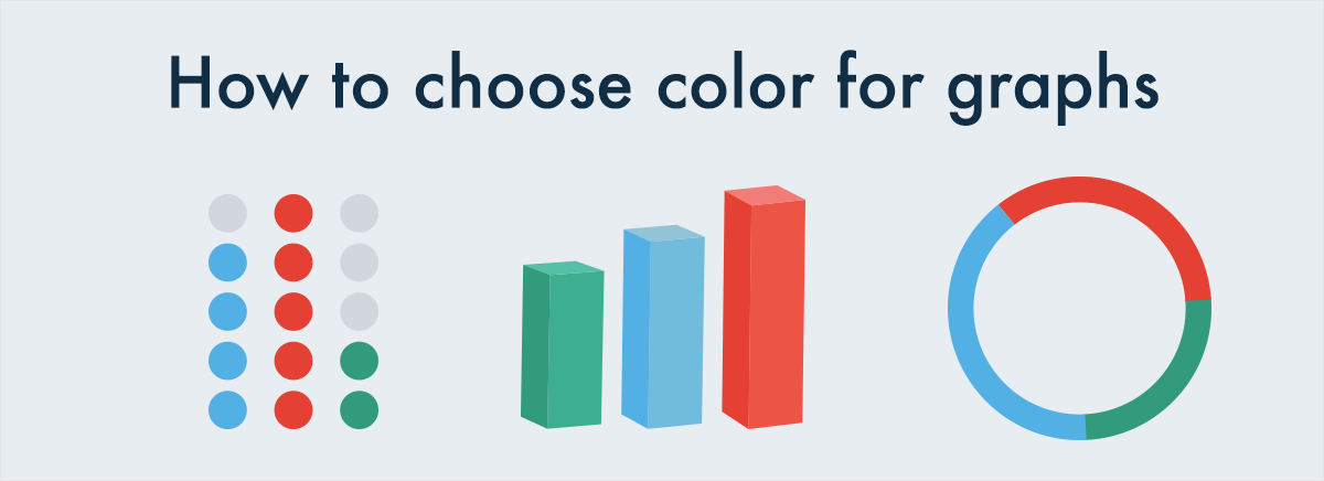 how to choose colors for charts and graphs