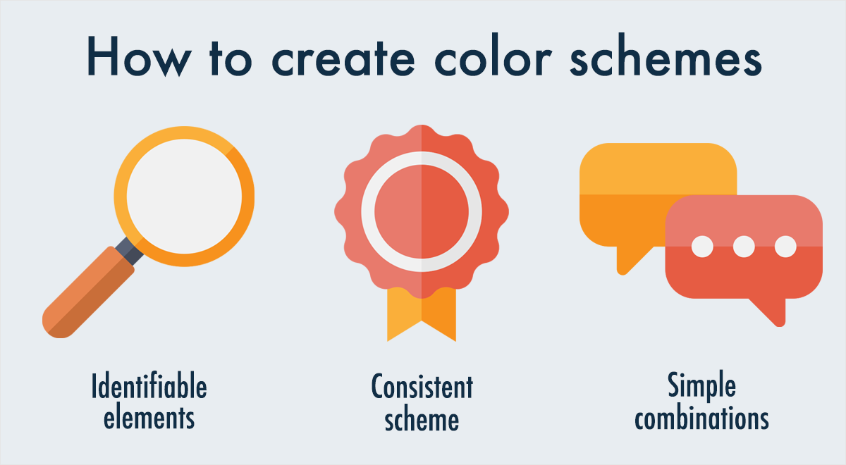 how-to-choose-the-right-color-scheme-for-your-infographic-identifiable elements consistent scheme simple combinations