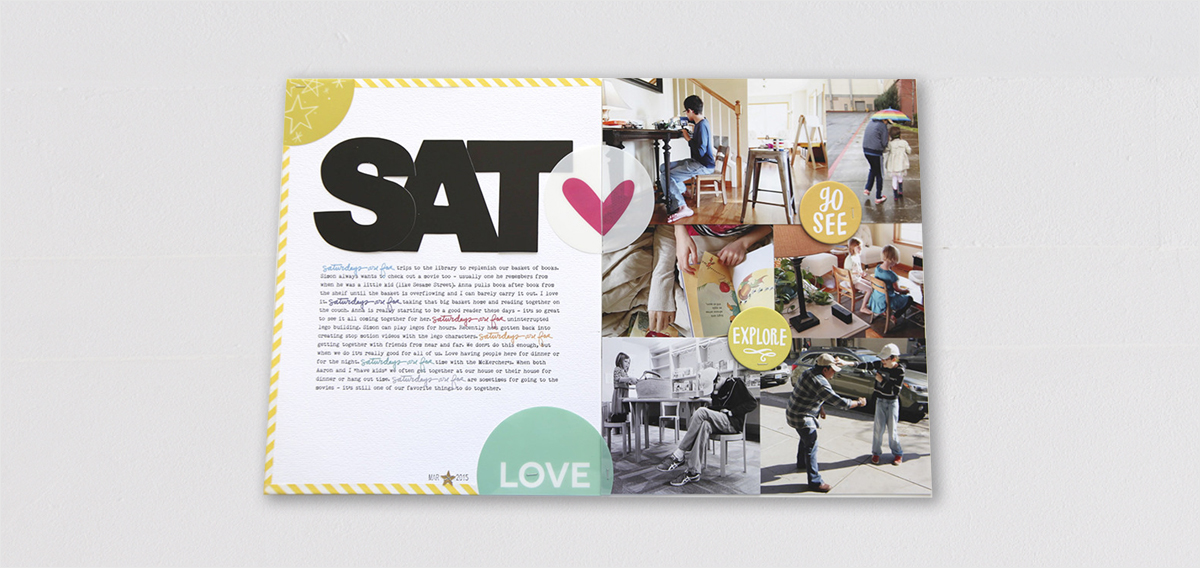Ali-Edwards scrapbooking