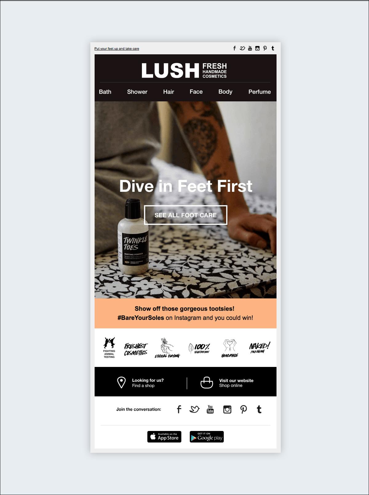 newsletter design tips headers footers