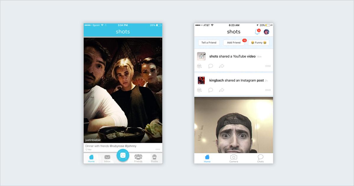 Shots-Studios screenshots app