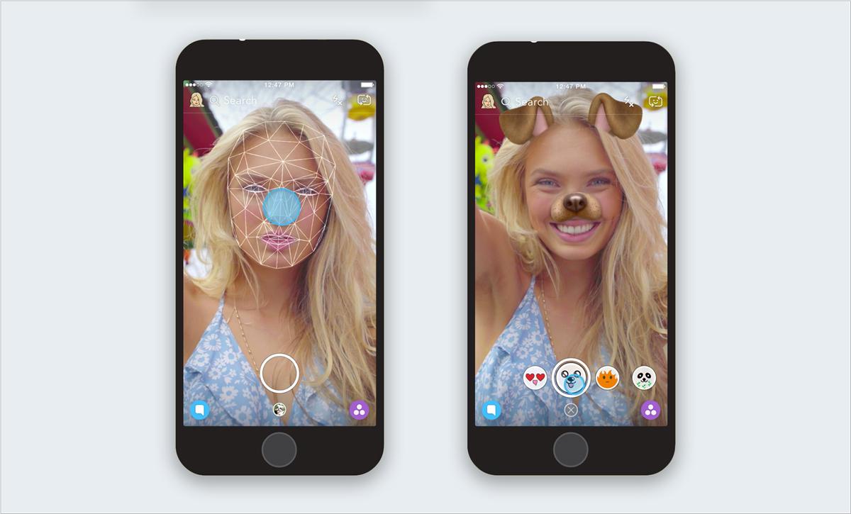 snapchat social network visual content