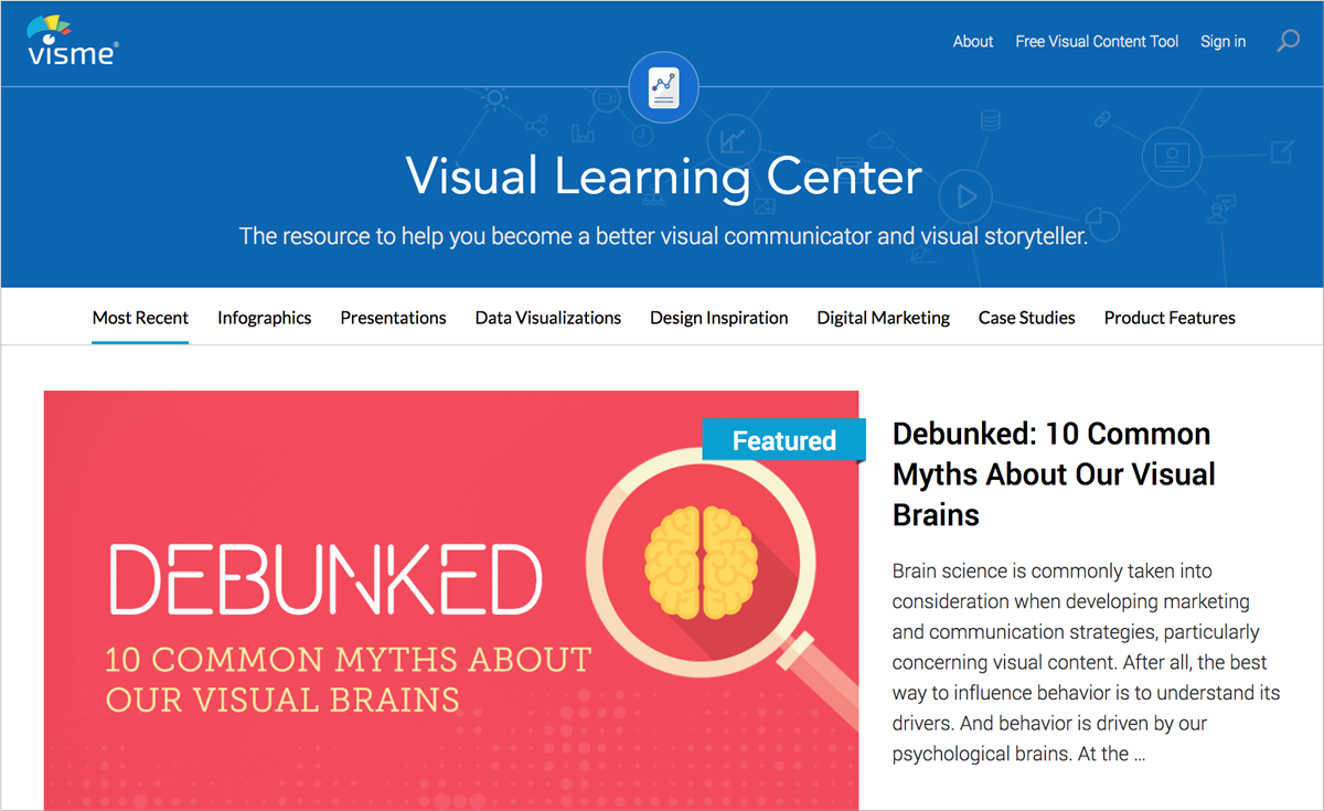 free design resources-Visual-Learning-Center
