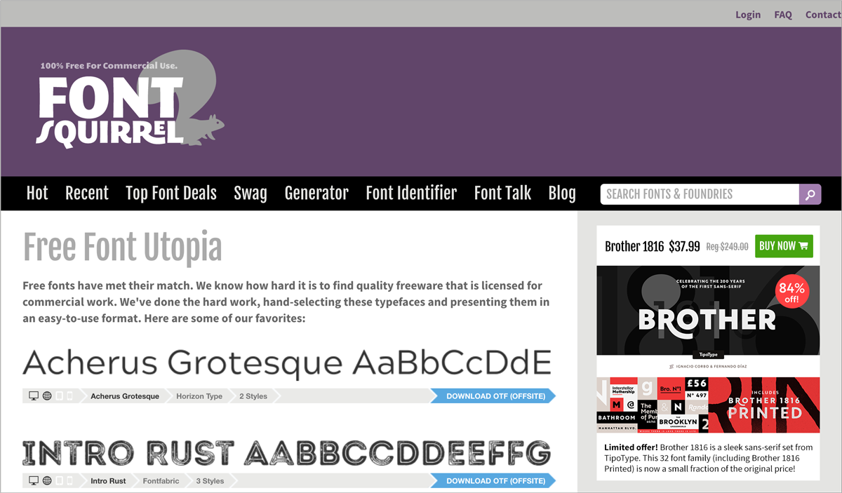 5free design resources-Free-Fonts-Font-Squirrel