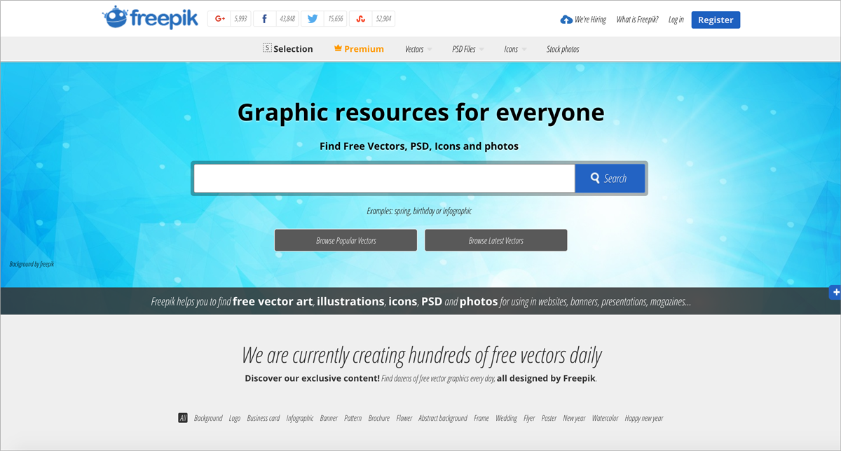 free design resources-Icons-Freepik