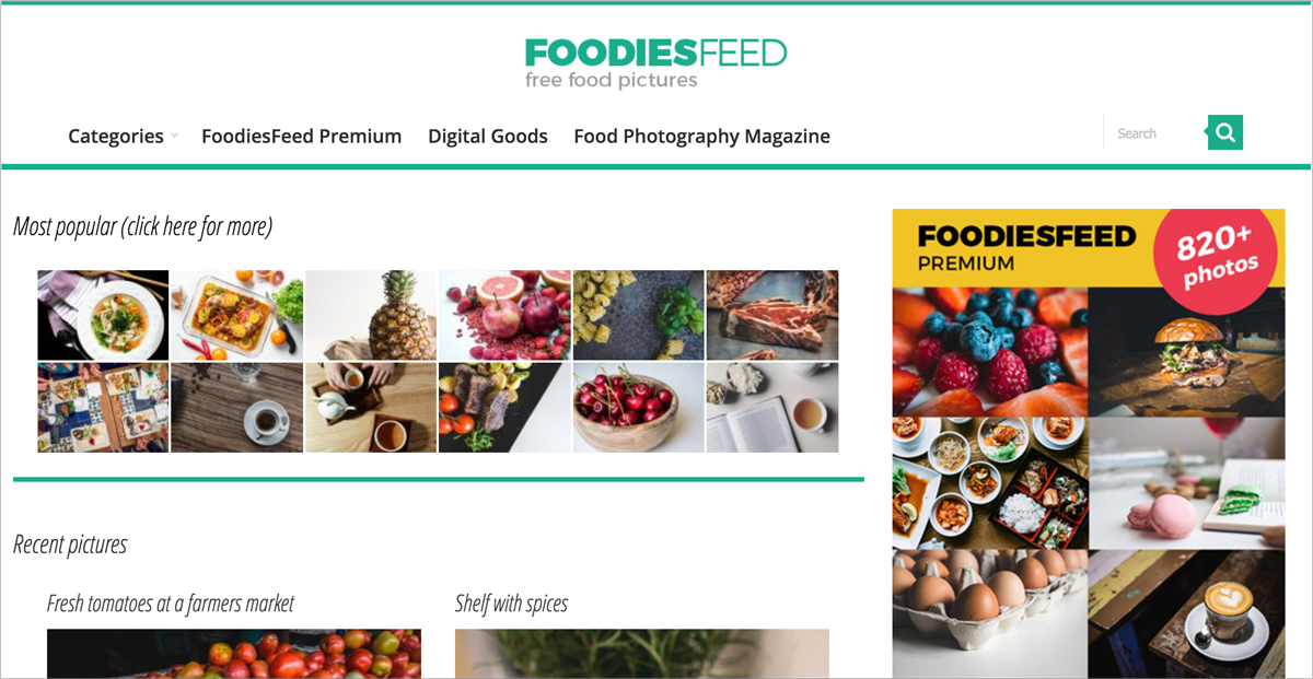 free design resources-free-images-Foodies-Feed