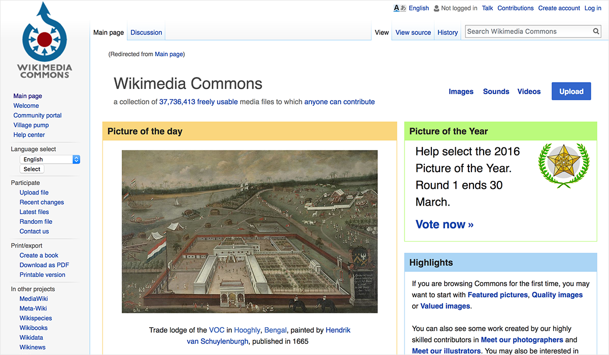 free design resources-free-images-Wikimedia-Commons