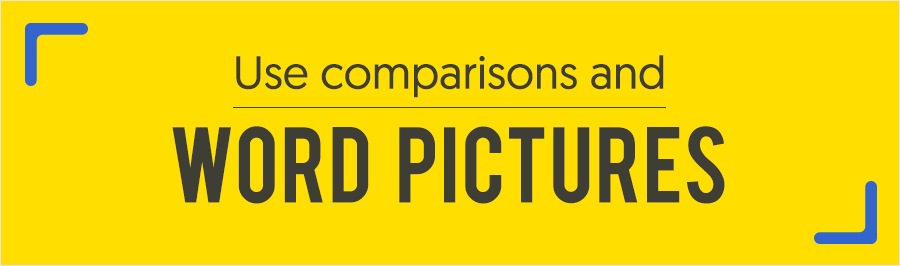 public speaking tips ways to get an audience on your side use comparisons and word pictures