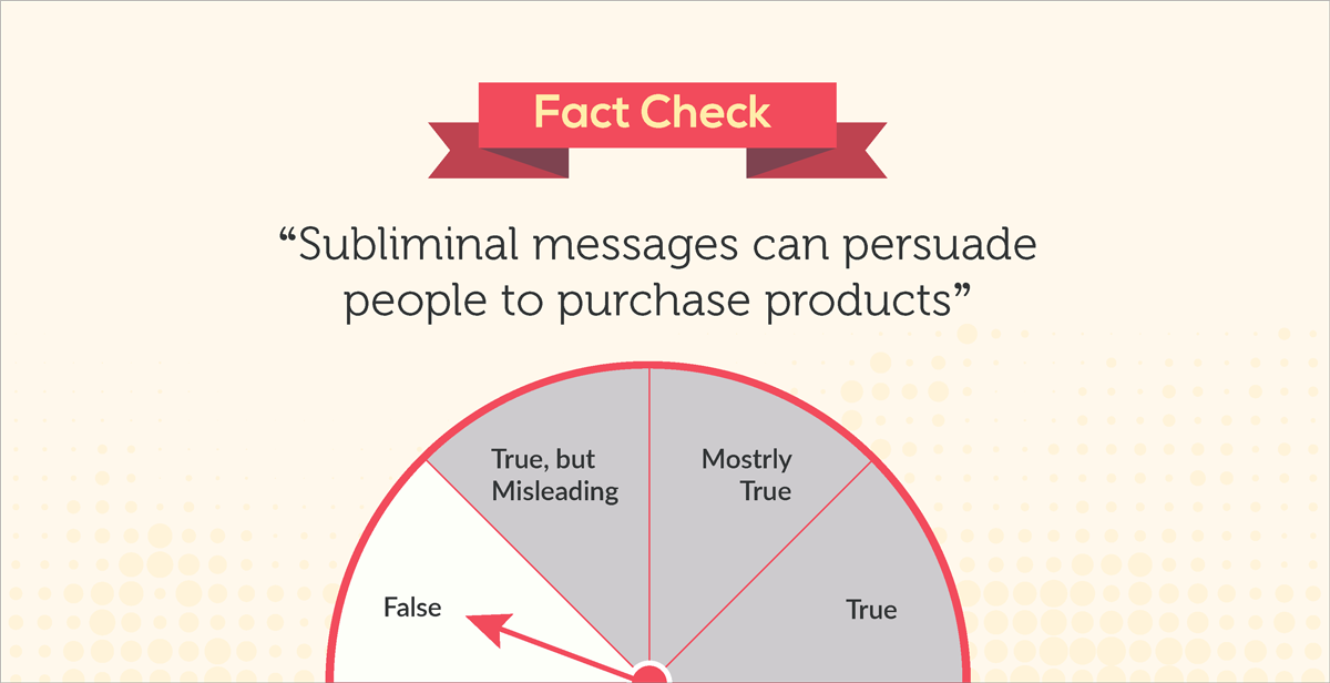 debunked 10 common myths about our visual brain fact check subliminal messages can persuade people to purchase products