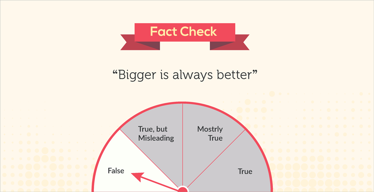 debunked 10 common myths about our visual brain bigger images attract more attention