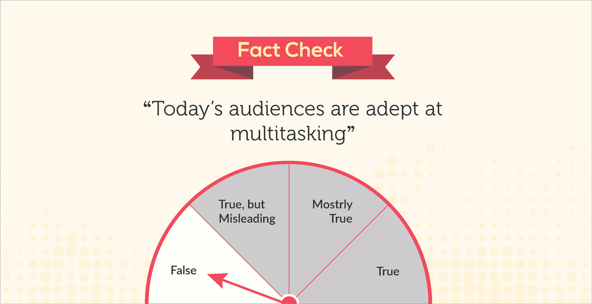 debunked 10 common myths about our visual brain fact check today's audiences are adept at multitasking