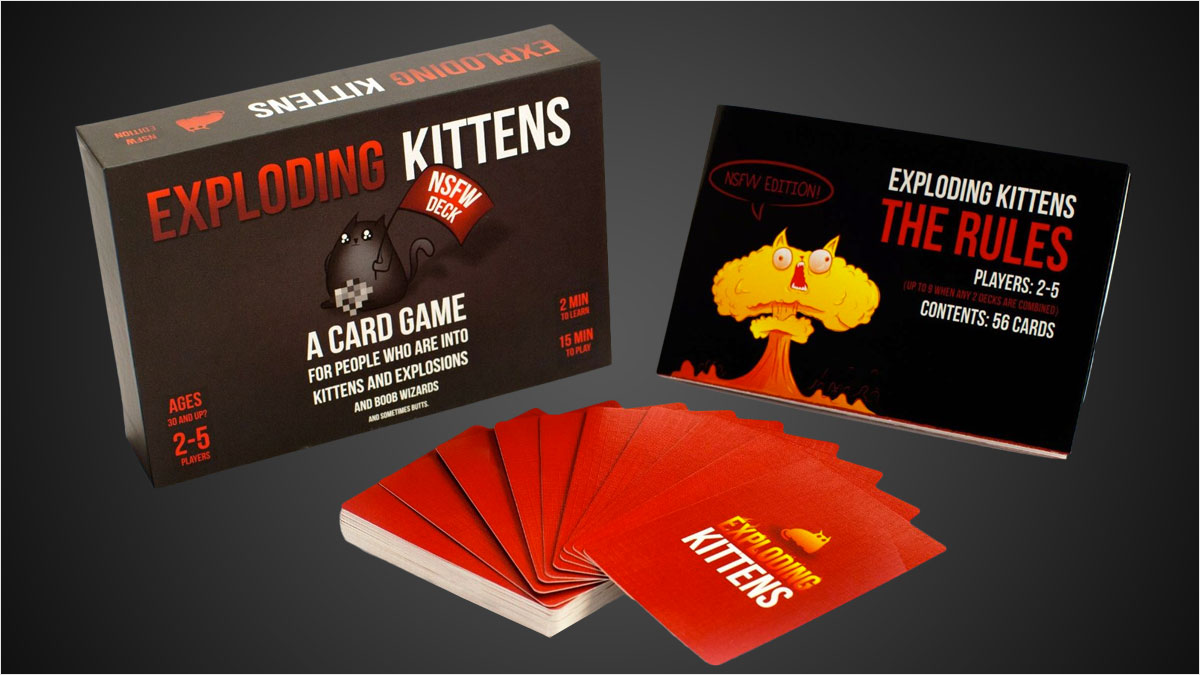 Exploding-Kittens-2 most successful kickstarter campaigns