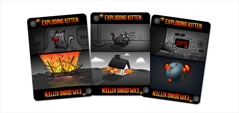 Exploding-Kittens most successful kickstarter campaigns