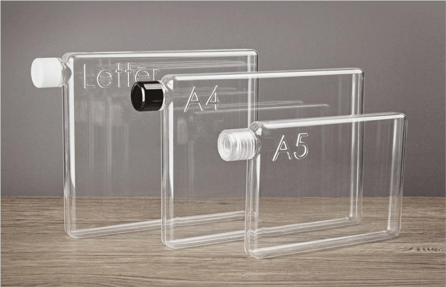 Memobottle-Flat-Water-Bottle most successful kickstarter campaigns