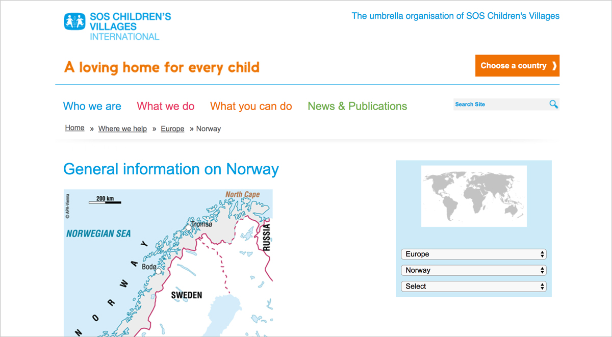 nonprofit-marketing-SOS-Children-s-Village-Norway 17 Creative Visual Marketing Campaigns by Nonprofits