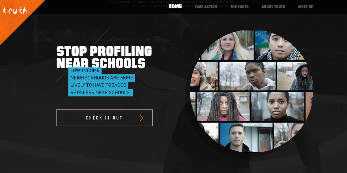 17 Creative Visual Marketing Campaigns by Nonprofits-Truth