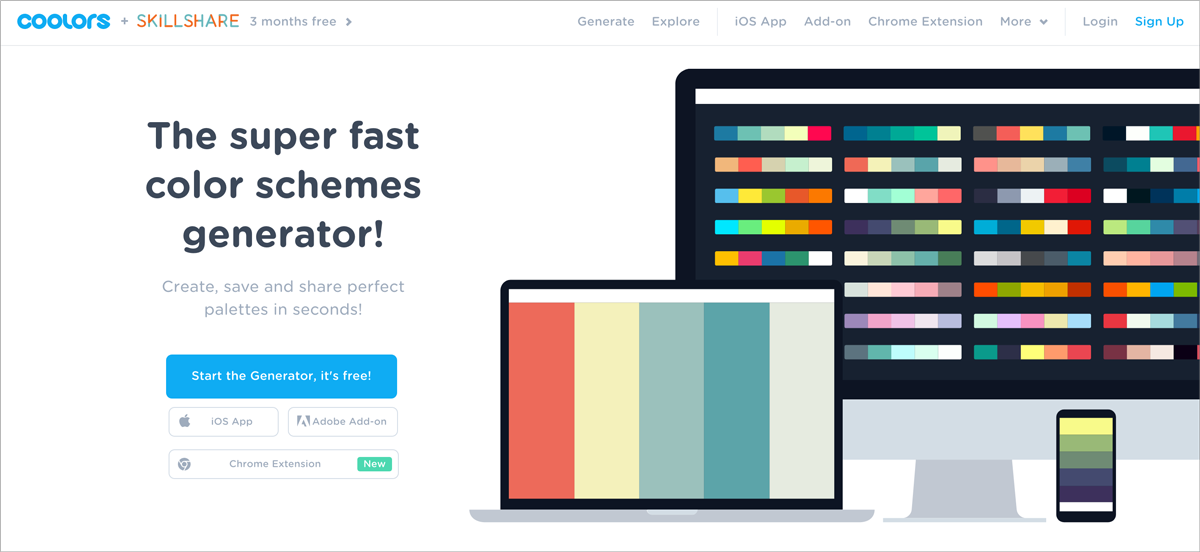 60 free design resources coolors