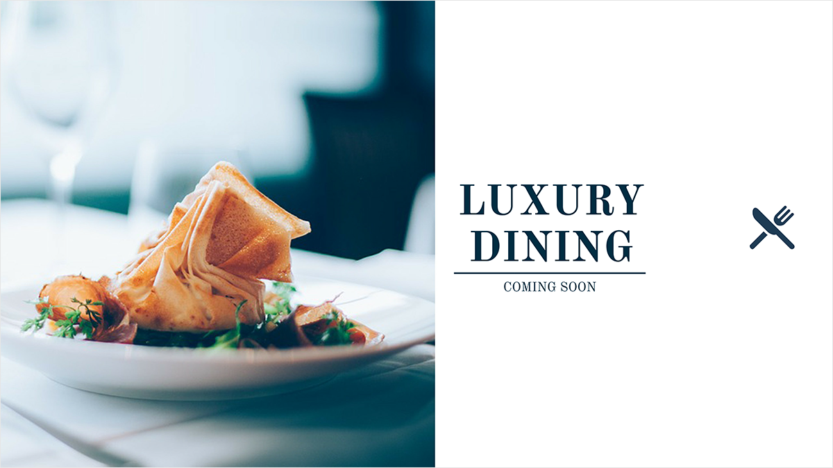 Luxury-Dining-youtube-banner-template-channel-art-top-food-meal-expensive-dinner-breakfast-quality-high