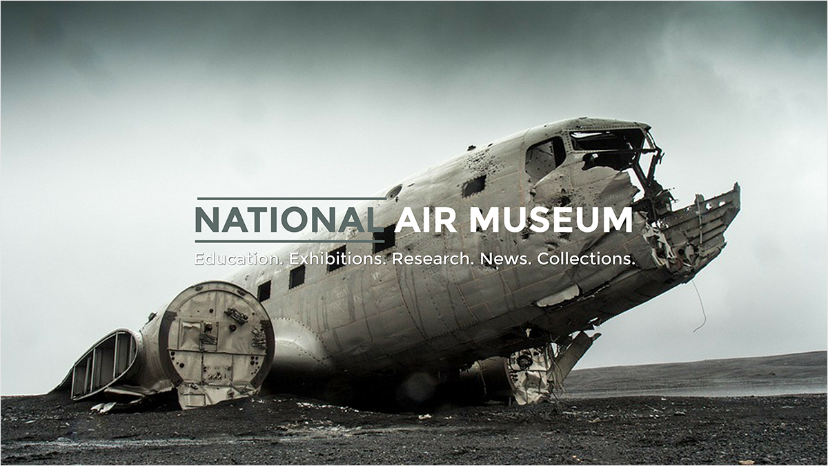 National-Air-Museum-youtube-banner-template-channel-art-aircraft-airplane-crash-history-landing