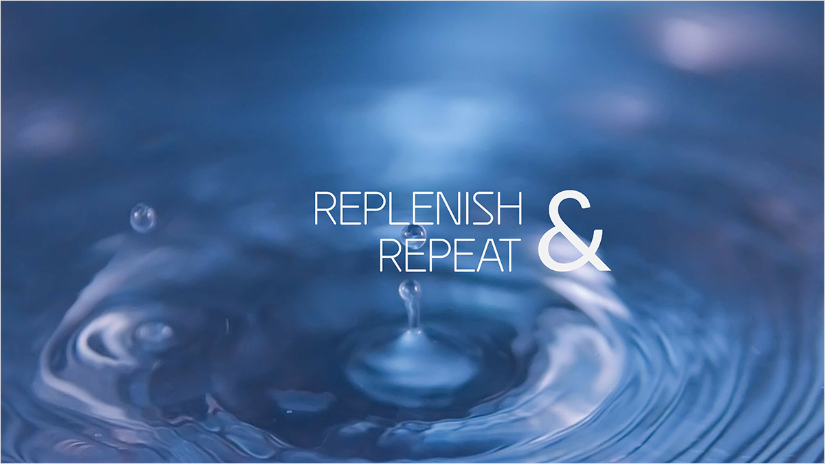 Replenish-Repeat-youtube-banner-template-channel-art-water-refresh-clean-clear-liquid