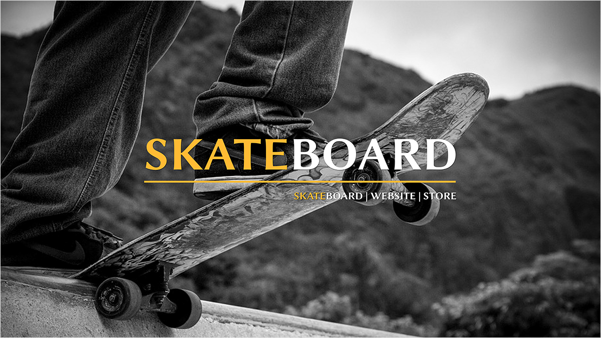 Skateboard-youtube-banner-template-channel-art-skate-roller-play-sport