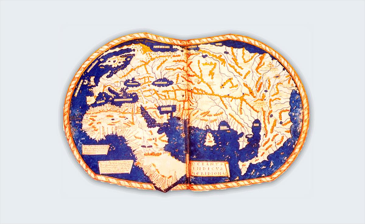 martellus' world map interesting infographics