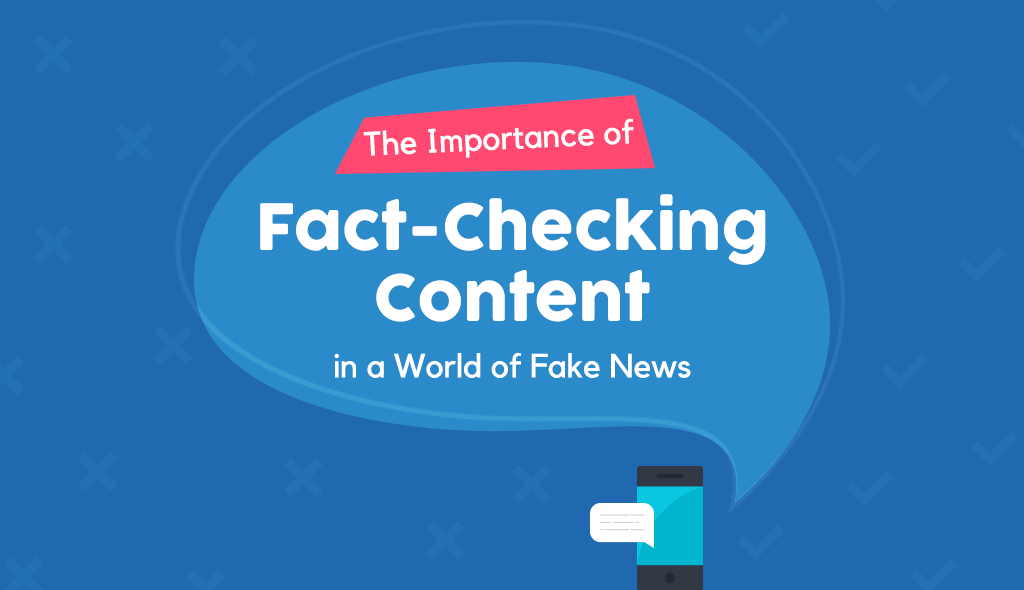 fact checking content marketing infographic checklist