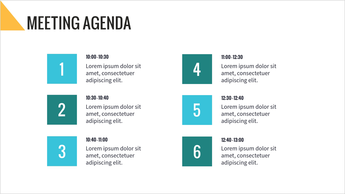 ppt meeting agenda