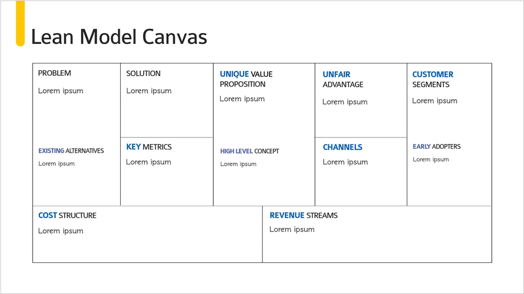 Investor-Pitch-Deck-Presentation-Template-Lean-Model-Canvas presentation theme