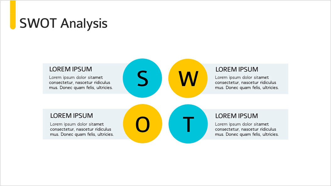 Investor-Pitch-Deck-Presentation-Template-SWOT-Analysis presentation theme