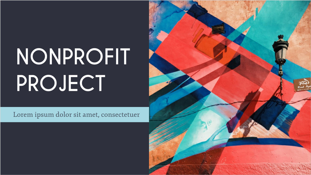 Nonprofit-Art-Presentation-Template presentation theme