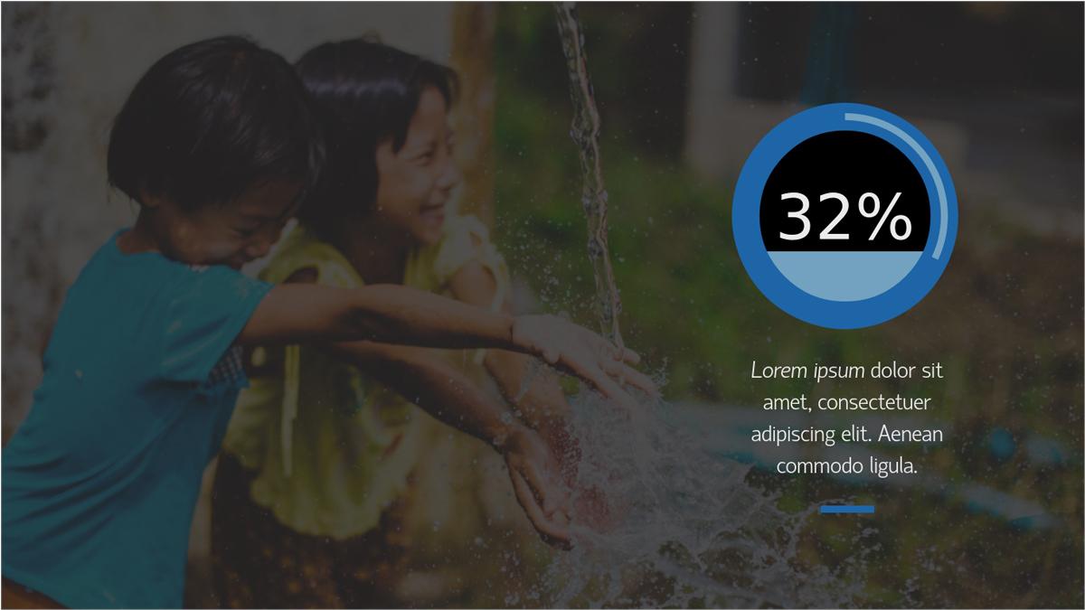 Nonprofit-Report-Presentation-Template-Statistic presentation theme