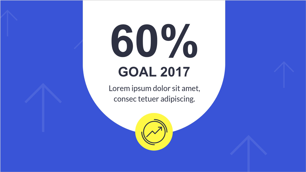 Sales-Report-Presentation-Template-Goal presentation theme