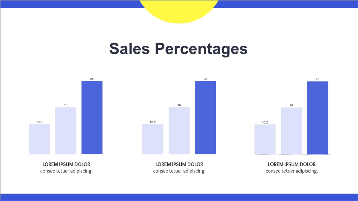 Sales-Report-Presentation-Template-Sales-Percentages presentation theme