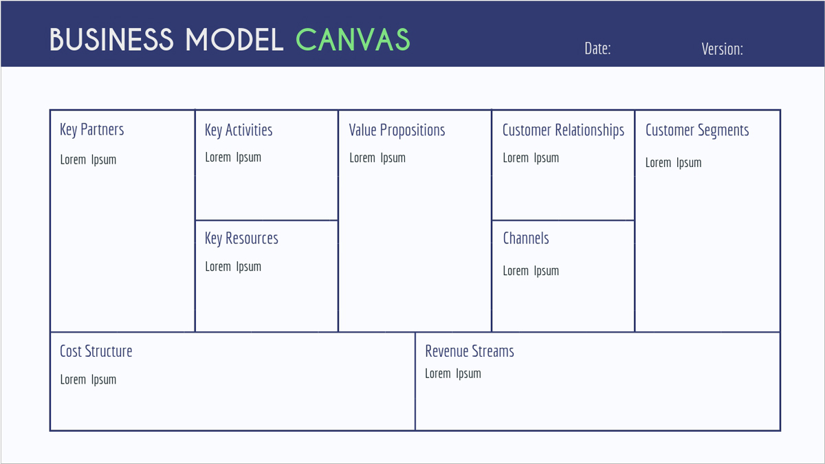 Startup-Pitch-Deck-Presentation-Template-Business-Model-Canvas presentation theme