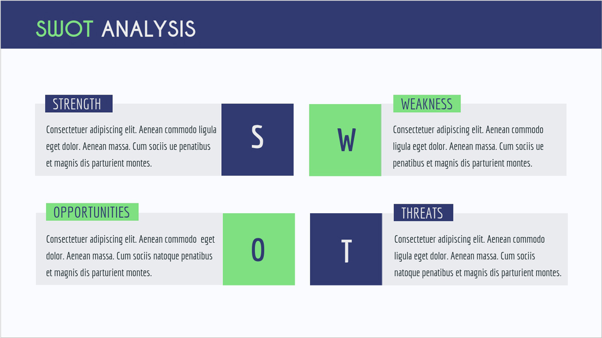 Startup-Pitch-Deck-Presentation-Template presentation theme SWOT-Analysis