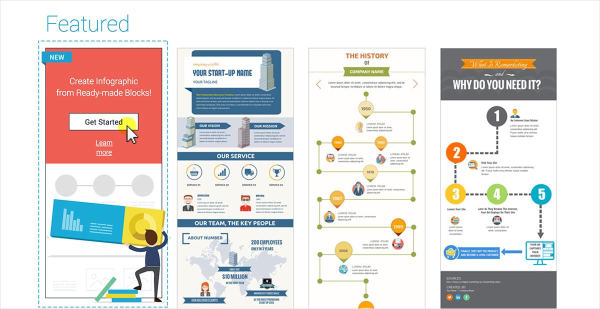 Quick Infographic Maker: Drag and Drop Content Blocks ...