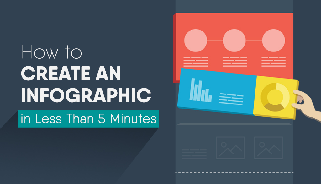 quick infographic maker drag and drop content blocks visual