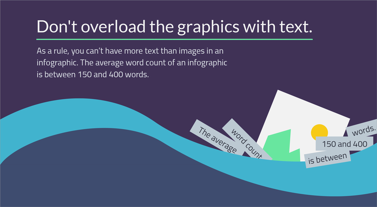7-Steps-to-Writing-Compelling-Infographic-Dont-overload-the-graphics-with-text how to write an infographic
