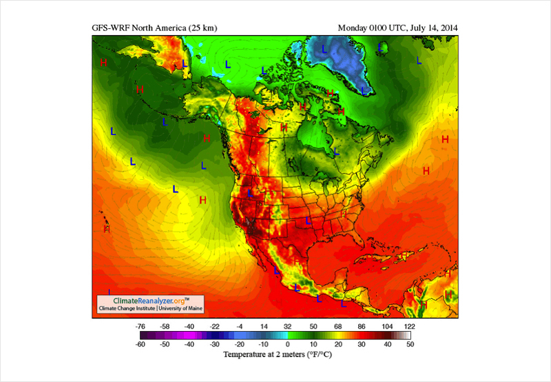 Meteorology-and-Environment-Heat-Maps types of graphs and charts