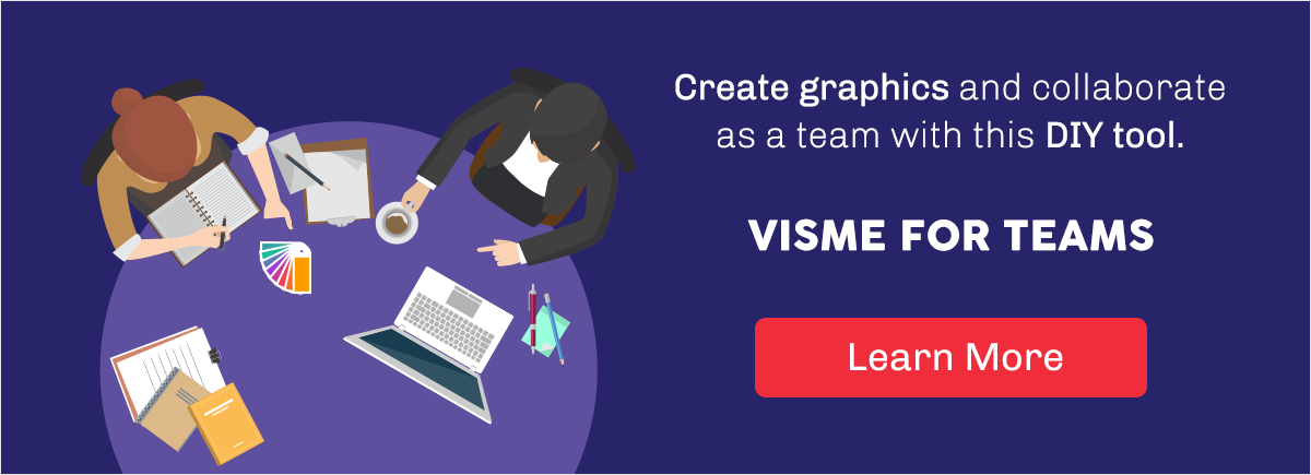 Visual Template Organization for Teams brand identity