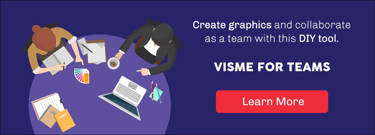 Visual Template Organization for Teams brand identity