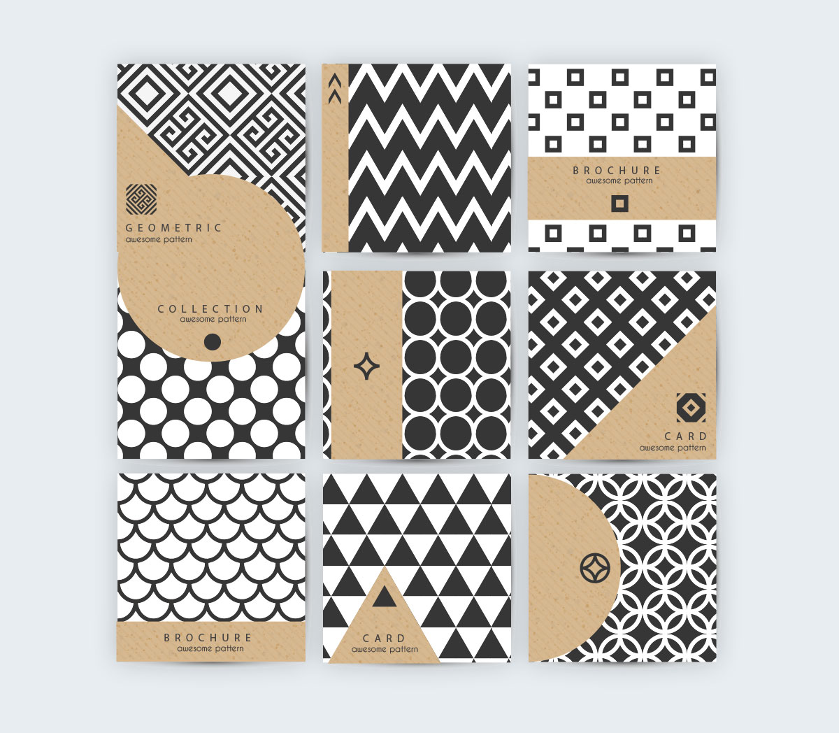 Easy Geometric Patterns Simple Inspiration Design