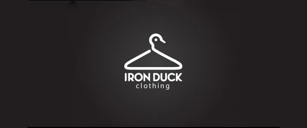 40-Creative-Logo-Designs-to-Inspire-You-Iron-Duck clothing