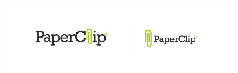 creative logo designs to inspire you logo samples paper clip