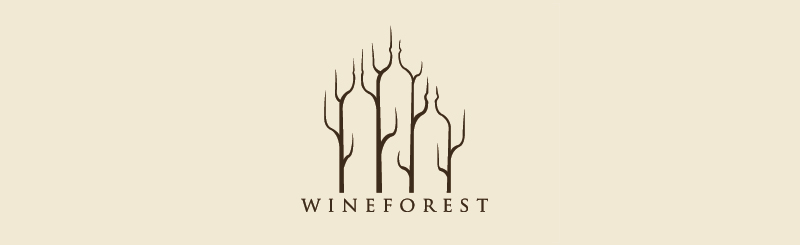 40-Creative-Logo-Designs-to-Inspire-You-Wine-Forest